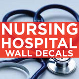 nursing and hospital wall decals