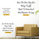Give The Ones You Love Wall Decal, 0003, Family Wall Decal, Living Room