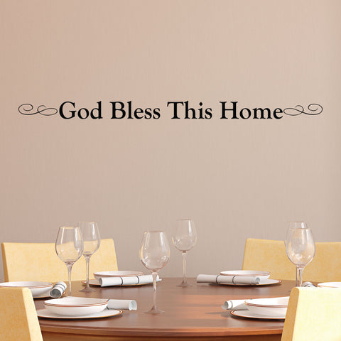 God Bless This Home Wall Decor, 0034, God Bless, Religion, Wall Art