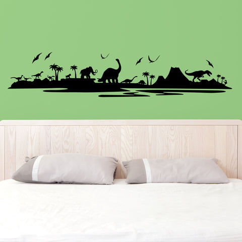 Dinosaur Wall Decal, 0042, Kids Bedroom, Dino, Wall Sticker