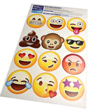 Full print out of your emoji wall stickers