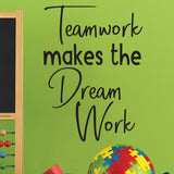 teamwork wall decal