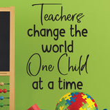 teacher wall decal