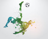 Digital Download 10x8 Soccer Wall Art - Set of 4 files - 0546
