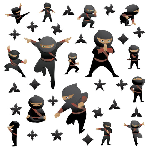 Ninja Wall Stickers
