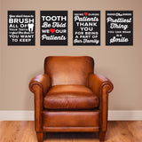 dental front office wall graphics