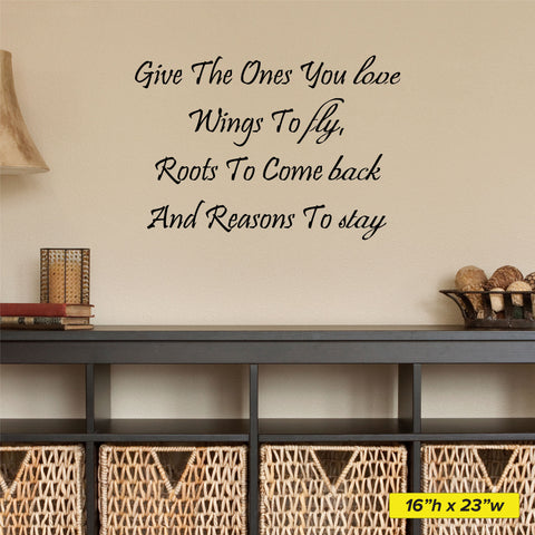 Give The Ones You Love Wall Decal - 0003 - Wall Stickers