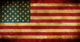 American Flag Wall Sticker - 0452