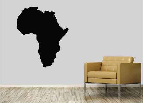 Africa. - 0224- Home Decor - Wall Decor - Africa - Continent - African