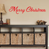 Christmas Decor Wall Decal - 0021 Merry Christmas Decor - Merry Christmas Wall Decor - Christmas