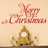 Christmas Decor Wall Decal - 0019 Merry Christmas Decor - Merry Christmas Wall Decor - Christmas