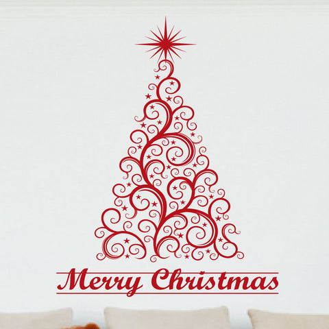 christmas decor wall decal 0039 christmas decor merry christmas wall decor christmas