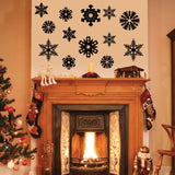 Snow Flake Wall Stickers - 0036 Christmas Decor - Snow Wall Decor - Christmas Ideas - Snow Flakes