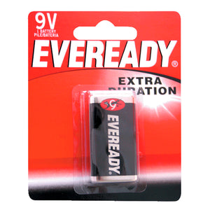 PILA EVEREADY (PVL) 1222-1 ZINC-CARBON 9V