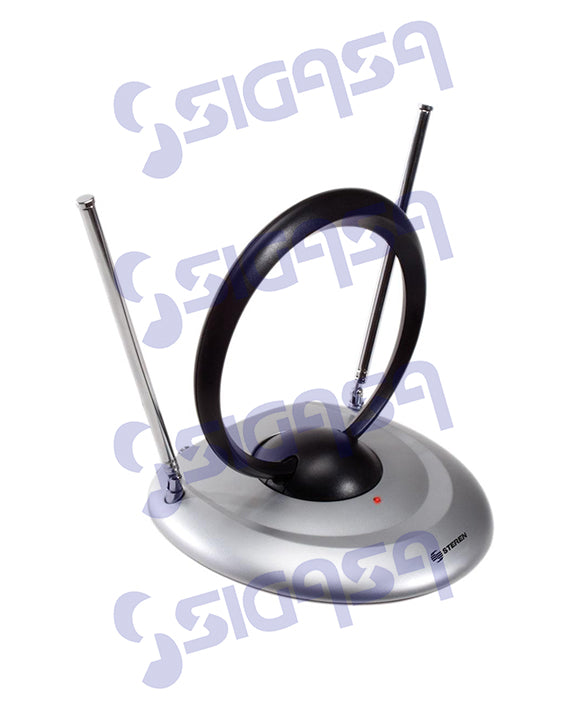 ANTENA PARA VHF/UHF/FM CON BOOSTER 50 DB STEREN ANT-4000, CMP-STEREN, SIGASA, SIGASA