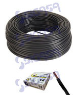 CABLE SUPERCABLE THW # 14 NEGRO (ROLLO 100 MTS), SUPERCABLE, SIGASA, SIGASA