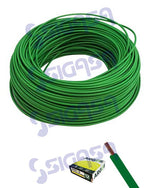 cable flexible automotriz # 12 verde (rollo 100mts) - SIGASA