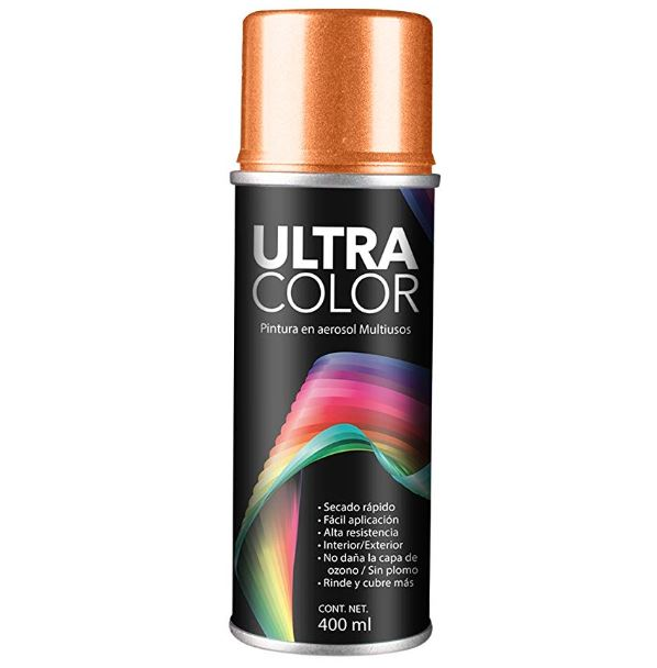 PINTURA ULTRACOLOR NARANJA AEROSOL 400ml.