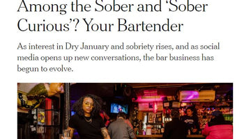 Among the Sober Curious - Bartenders NYT Jan 2020