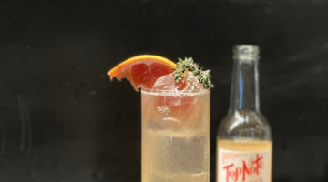Bridgit Loeffelholz's Grapefruit & Aquavit Highball