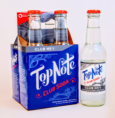 bottled club soda 4pack four pack