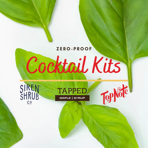 "Zero-Proof Cocktail Kit - ""Green"" - Basil, Hops"
