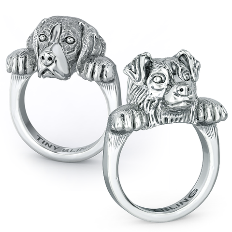 Snuggle Dog Rings