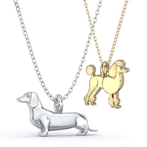 Mini Pups Necklaces