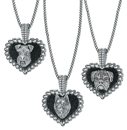 Puppy Love Heart Pendant
