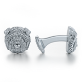 Affenpinscher Breed Puppy Face Cufflinks - TINY BLING