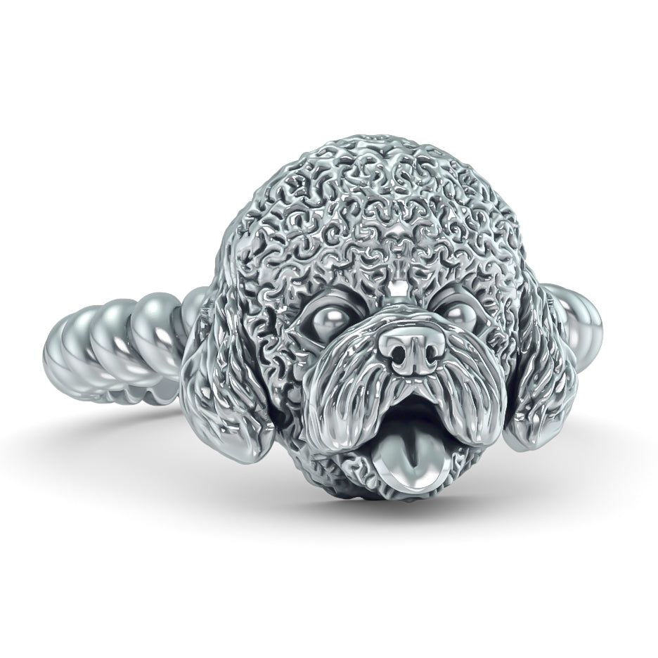 BICHON Twisted Wire Rope Ring