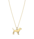 Beagle Mini Pups Diamond Necklace
