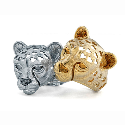 Cheetah Love Ring Gold