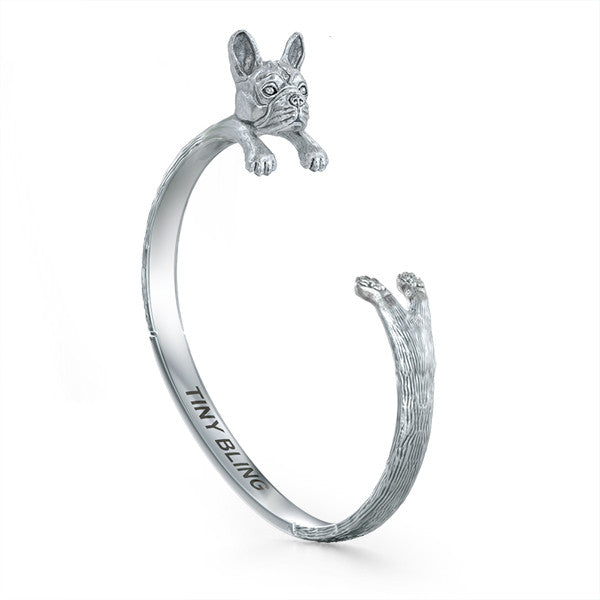 French Bulldog Breed Jewelry Cuddle Cuff Bracelet