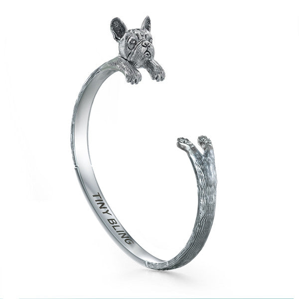French Bulldog Jewelry Cuddle Cuff Bracelet