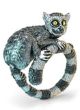 Ring-Tailed Lemur Diamond Ring