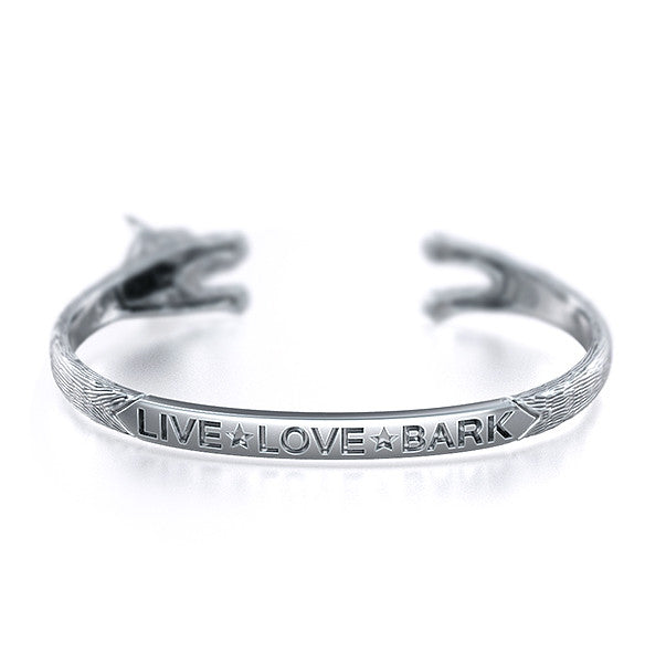 Weimaraner Breed Jewelry Cuddle Cuff Bracelet
