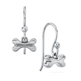 Lucky Bones Dangle Earrings - TINY BLING