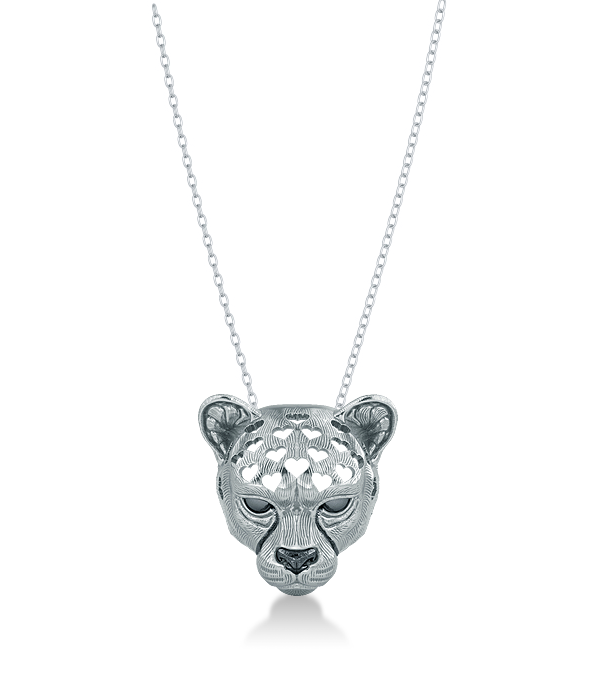 Cheetah Love Necklace