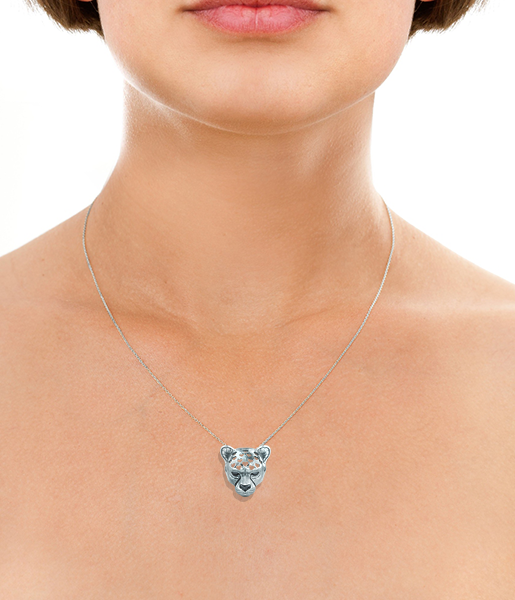 Cheetah Love necklace m