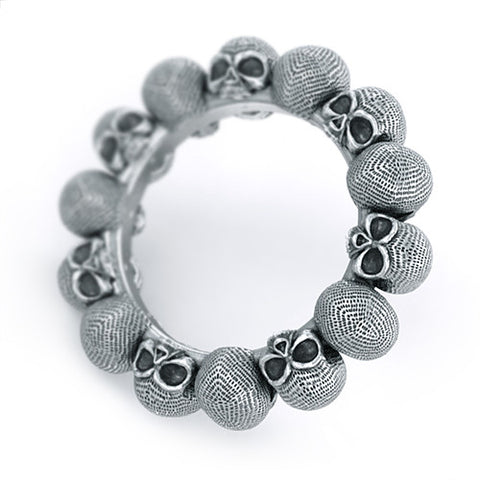 Endless Eternity Skull Ring