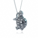 Madagascar Tortoise Diamond Necklace1