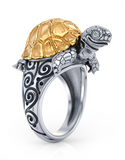 Madagascar Tortoise Empire Ring