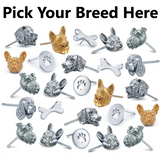 All Dog Breeds- Earring Studs