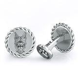German Shepherd Dapper Cufflinks