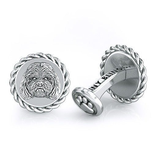 Cockapoo Dapper Cufflinks