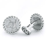Chihuahua Embossed Dapper Cufflinks