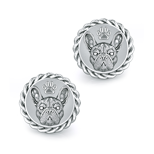French Bulldog Breed Dapper Cufflinks