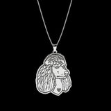 Poodle Breed Jewelry Necklace - TINY BLING