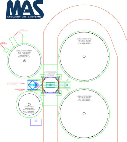 GSI TopDry Drawing & System Design